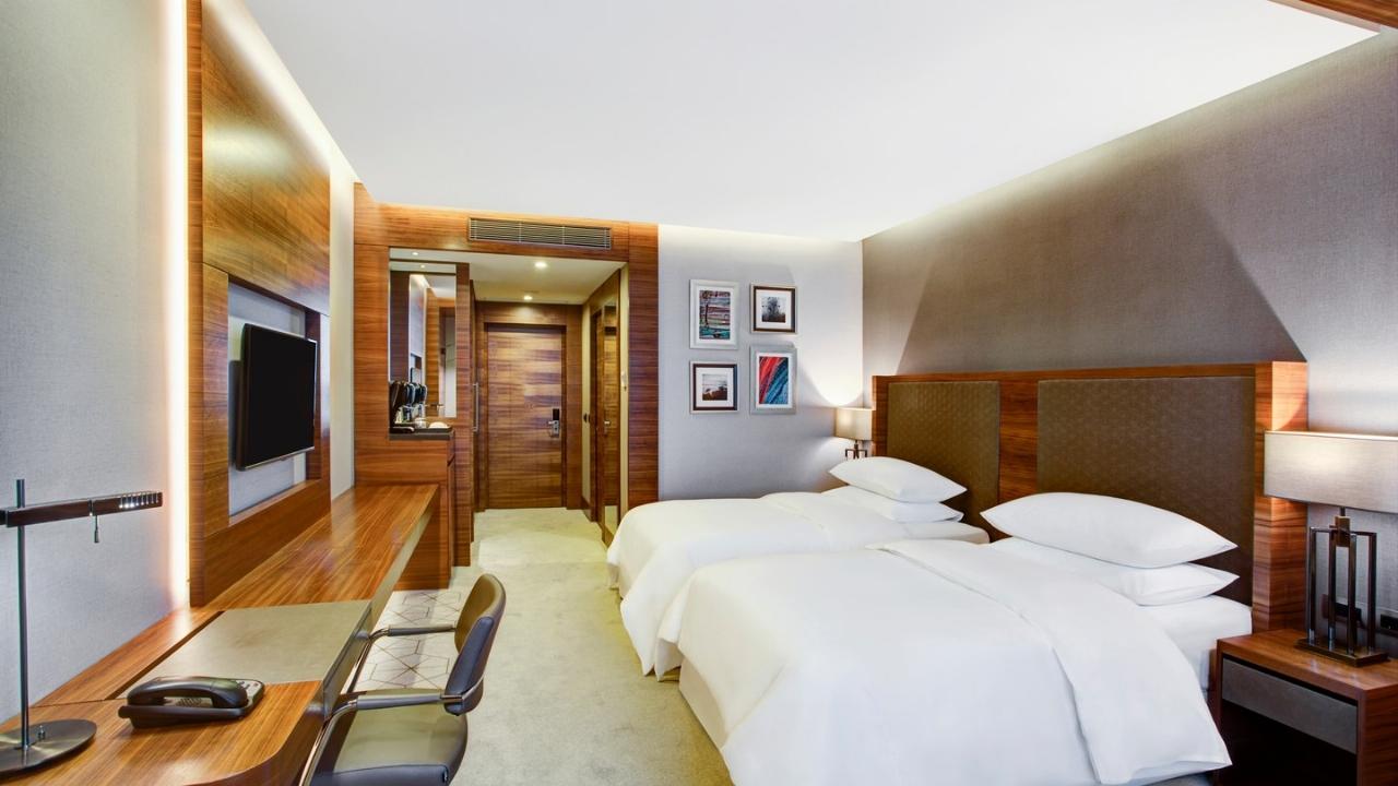 Sheraton Otel ( 5 Yıldız) - Turizm Haritası