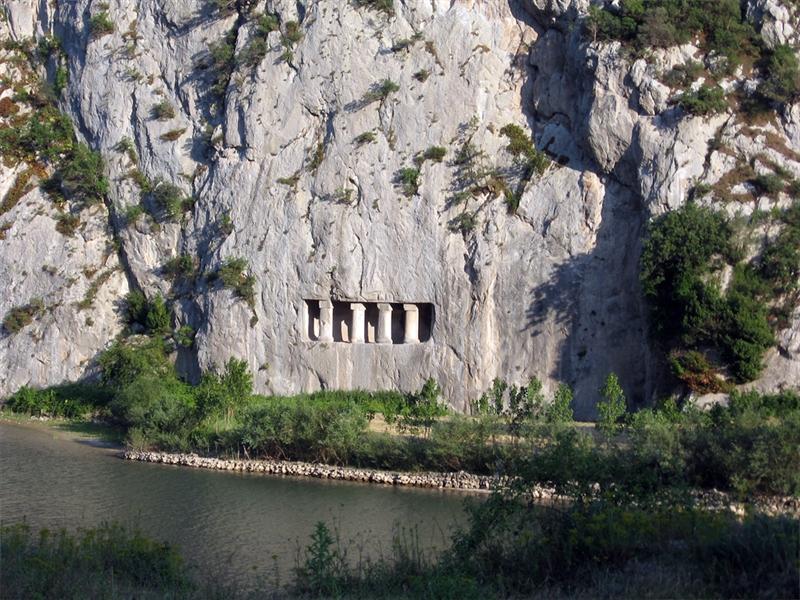 Asarkale Kaya Mezarı