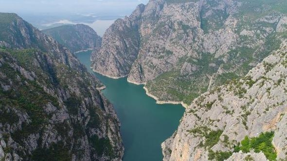 Şahinkaya Kanyonu - Turizm Haritası