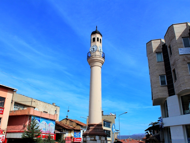 Vezirköprü Saat Kulesi - Turizm Haritası