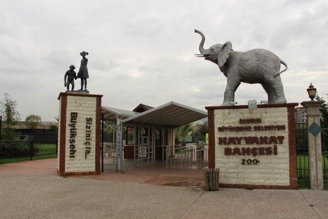 Hayvanat Bahçesi - Turizm Haritası
