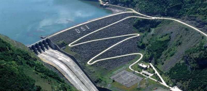 Suat Uğurlu Barajı - Turizm Haritası